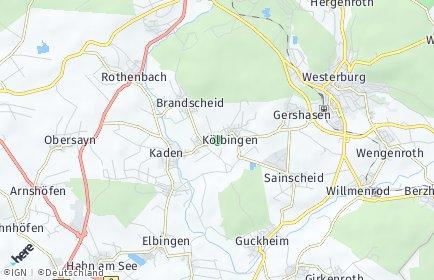 Stadtplan Kölbingen