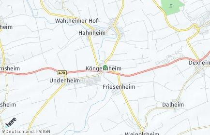 Stadtplan Köngernheim