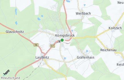 Stadtplan Königsbrück