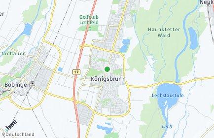 Stadtplan Königsbrunn