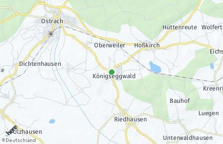 Stadtplan Königseggwald