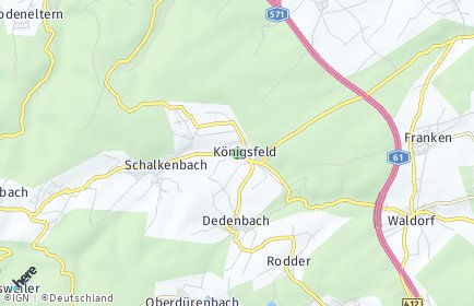Stadtplan Königsfeld (Eifel)