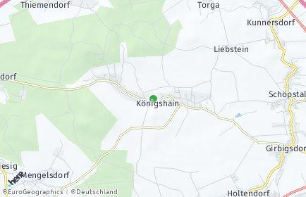 Stadtplan Königshain