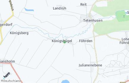 Stadtplan Königshügel