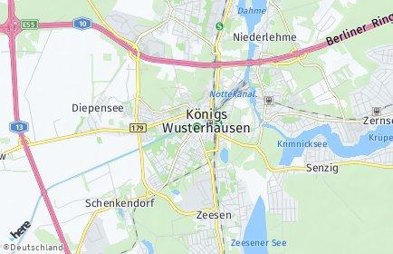 Stadtplan Königs Wusterhausen