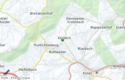 Stadtplan Körborn