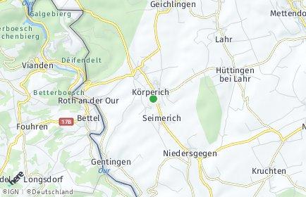 Stadtplan Körperich
