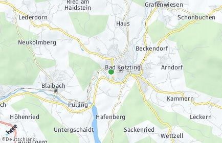 Stadtplan Bad Kötzting