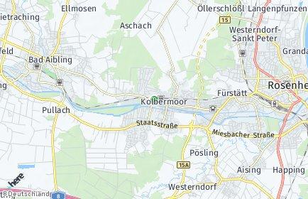 Stadtplan Kolbermoor