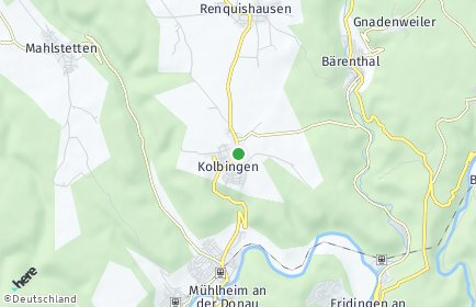Stadtplan Kolbingen