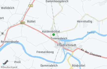 Stadtplan Koldenbüttel