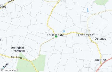 Stadtplan Kolkerheide