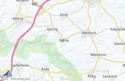 Stadtplan Kollig