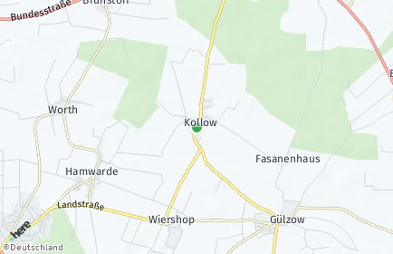 Stadtplan Kollow