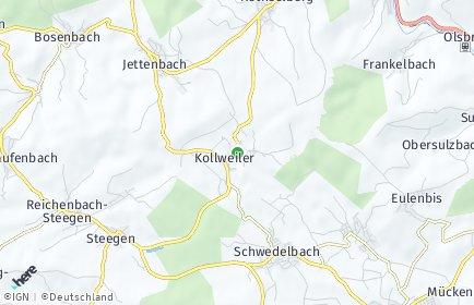 Stadtplan Kollweiler