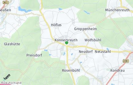 Stadtplan Konnersreuth