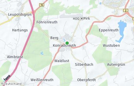 Stadtplan Konradsreuth