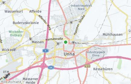 Stadtplan Unna