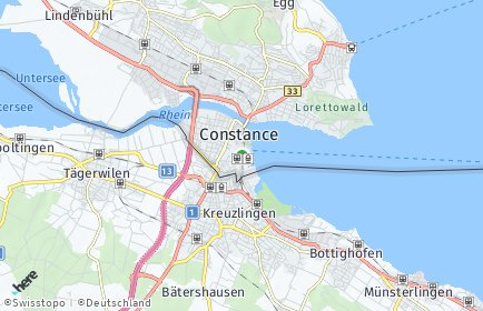 Stadtplan Konstanz OT Altstadt