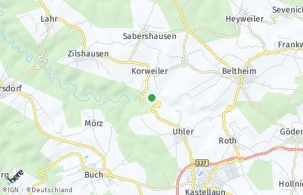 Stadtplan Korweiler