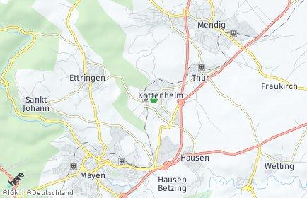 Stadtplan Kottenheim