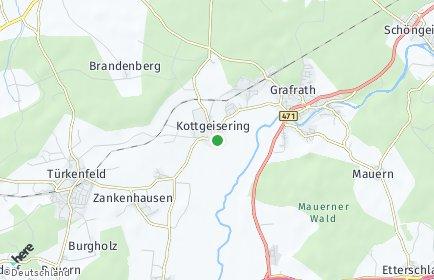 Stadtplan Kottgeisering