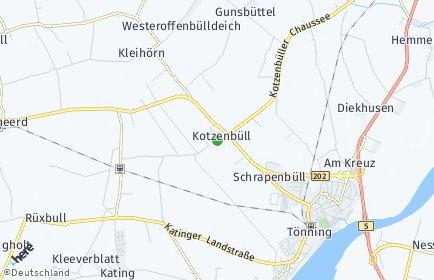 Stadtplan Kotzenbüll