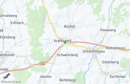 Stadtplan Kraftisried
