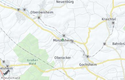 Stadtplan Kraichtal