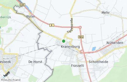 Stadtplan Kranenburg (Niederrhein)