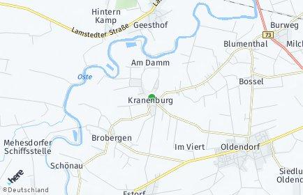 Stadtplan Kranenburg (Oste)
