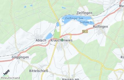 Stadtplan Krauchenwies