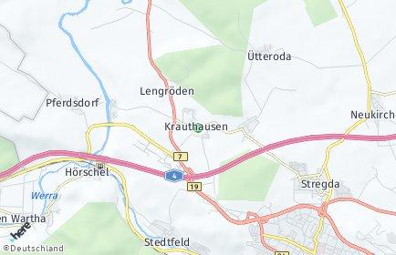 Stadtplan Krauthausen