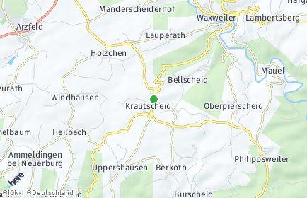 Stadtplan Krautscheid