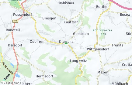 Stadtplan Kreischa