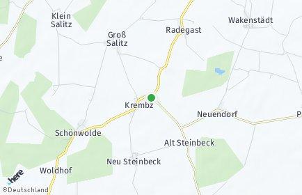 Stadtplan Krembz