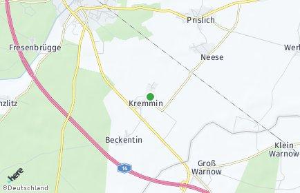 Stadtplan Kremmin OT Beckentin