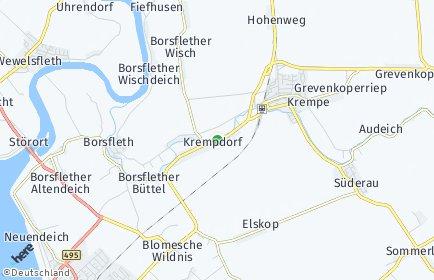 Stadtplan Krempdorf