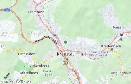 Stadtplan Kreuztal