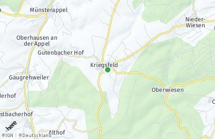 Stadtplan Kriegsfeld