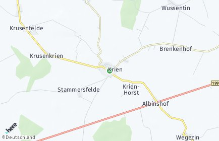 Stadtplan Krien