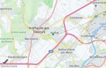 Stadtplan Kriftel