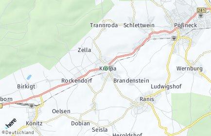 Stadtplan Krölpa