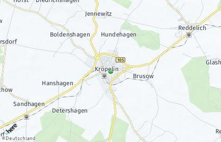 Stadtplan Kröpelin