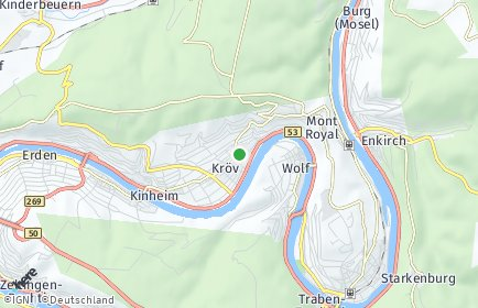 Stadtplan Kröv
