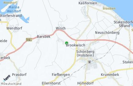 Stadtplan Krokau