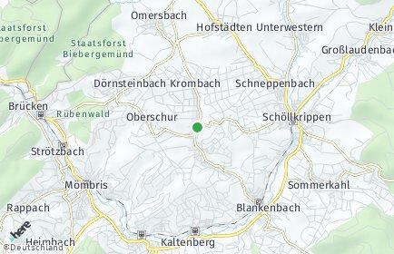 Stadtplan Krombach (Unterfranken)