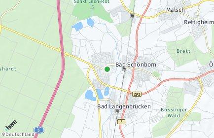Stadtplan Kronau