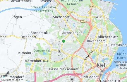 Stadtplan Kronshagen