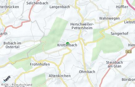 Stadtplan Krottelbach
